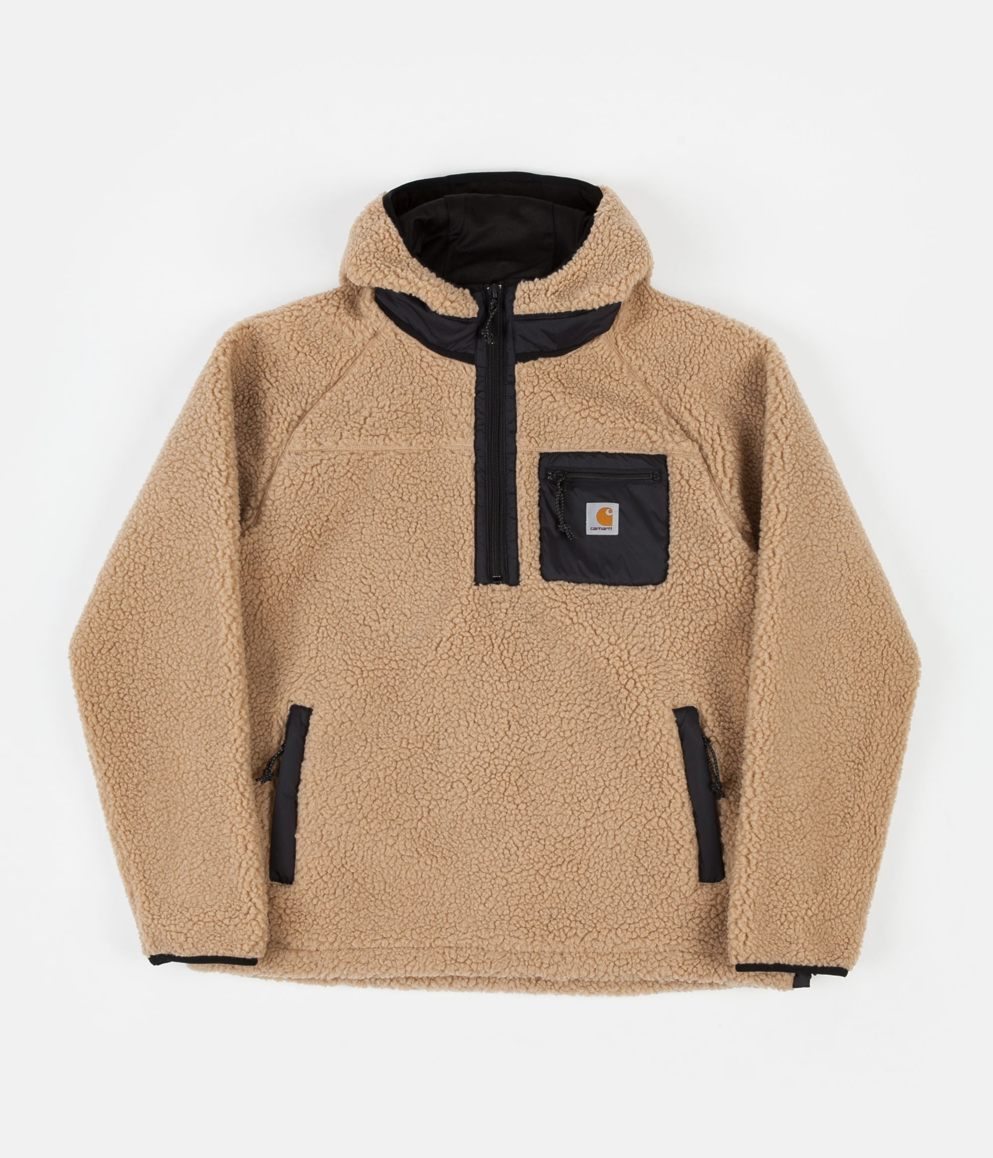 Carhartt Prentis Pullover Jacket Dusty Hamilton Brown