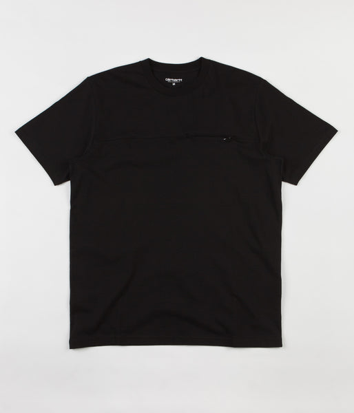 Carhartt Reflective Pocket T-Shirt - Black