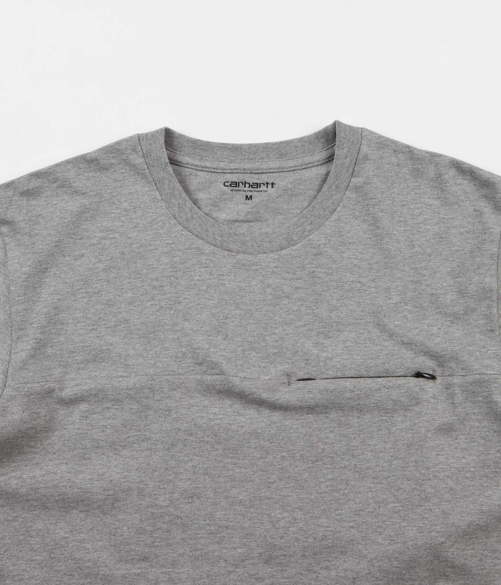 Carhartt Reflective Pocket T-Shirt - Grey Heather