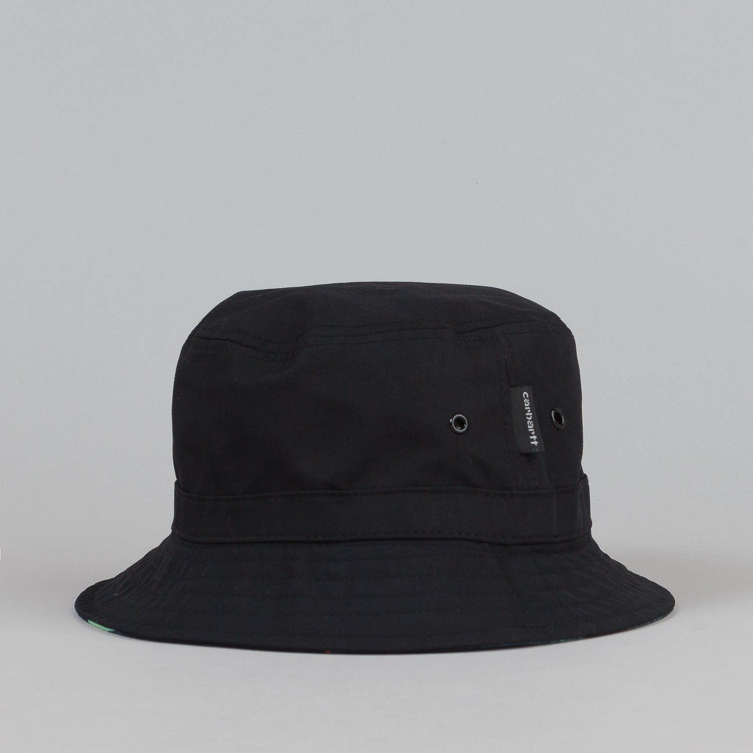 Carhartt Reversible Bucket Hat - Tropic Print / Black