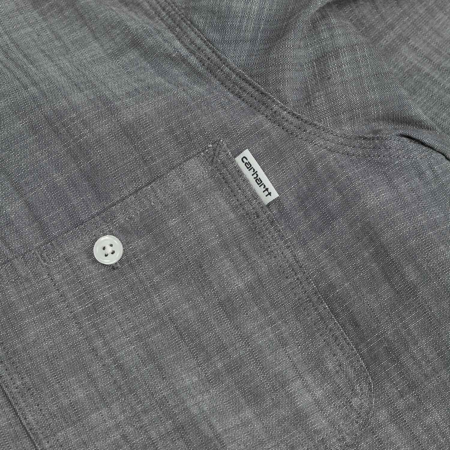 Carhartt Robert L/S Shirt - Black Rinsed