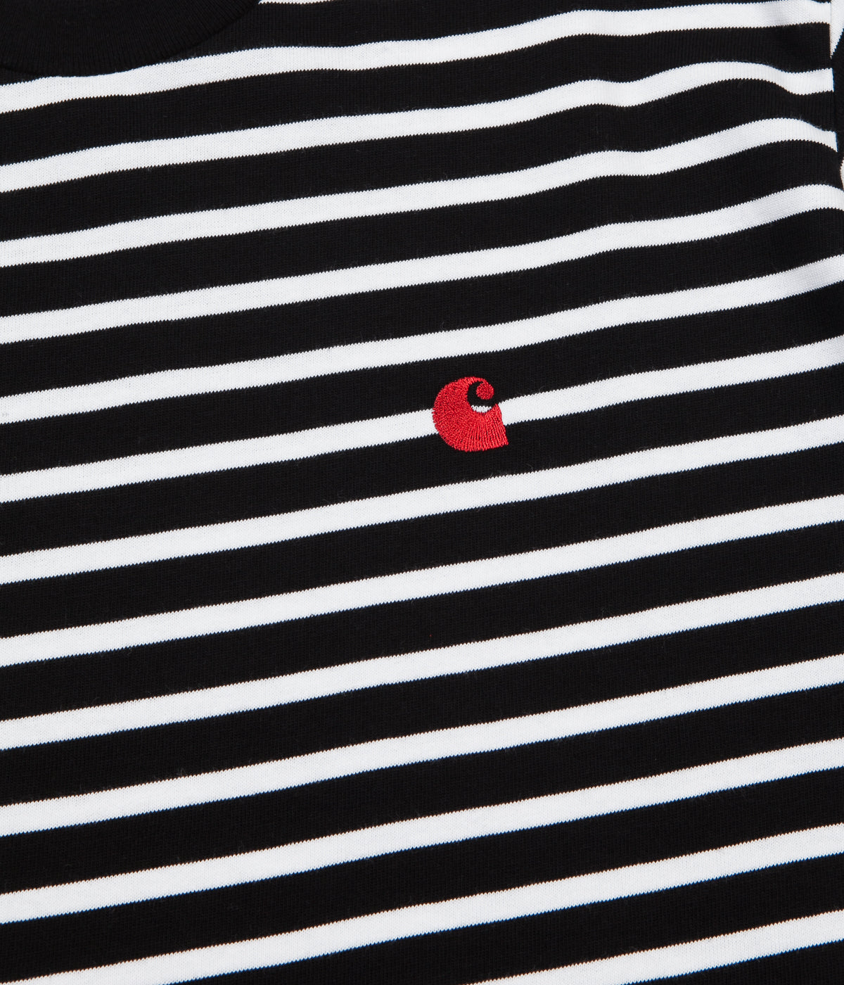 Carhartt Robie T-Shirt - Black / White / Blast Red