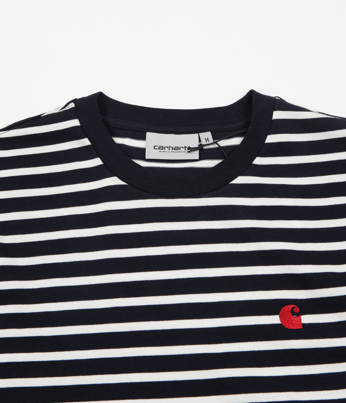 Carhartt Robie T-Shirt - Dark Navy / Wax / Blast Red
