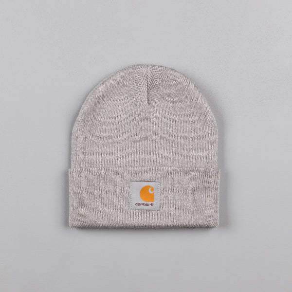 Carhartt Short Watch Hat Beanie - Grey Heather