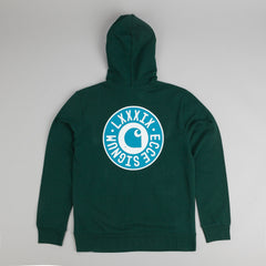 Carhartt Signum Hooded Sweatshirt - Bottle Green