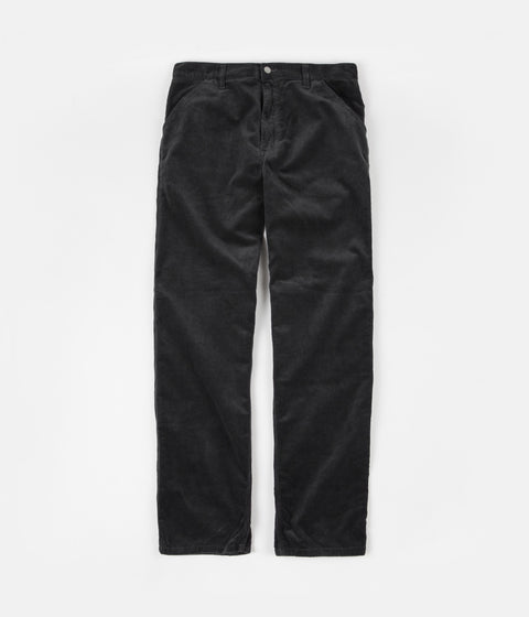 Carhartt Simple Cord Pants - Blacksmith