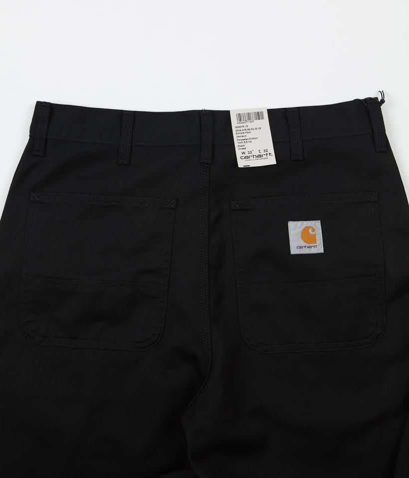 Carhartt Simple Trousers - Black