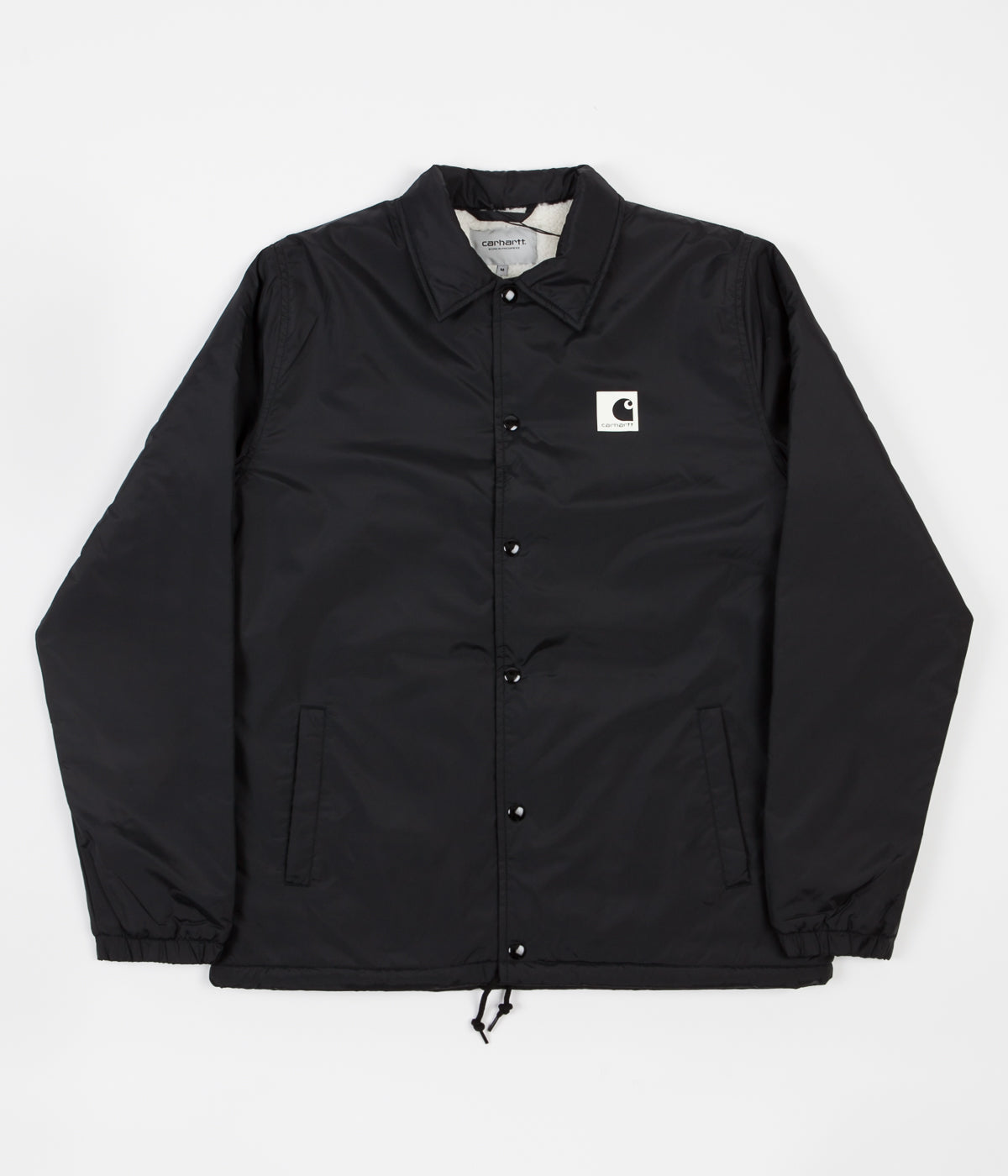 Carhartt Sports Pile Coach Jacket - Black