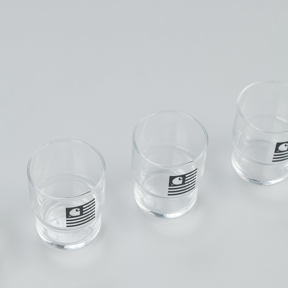 Carhartt Stackable Glasses Set - Black Graphic