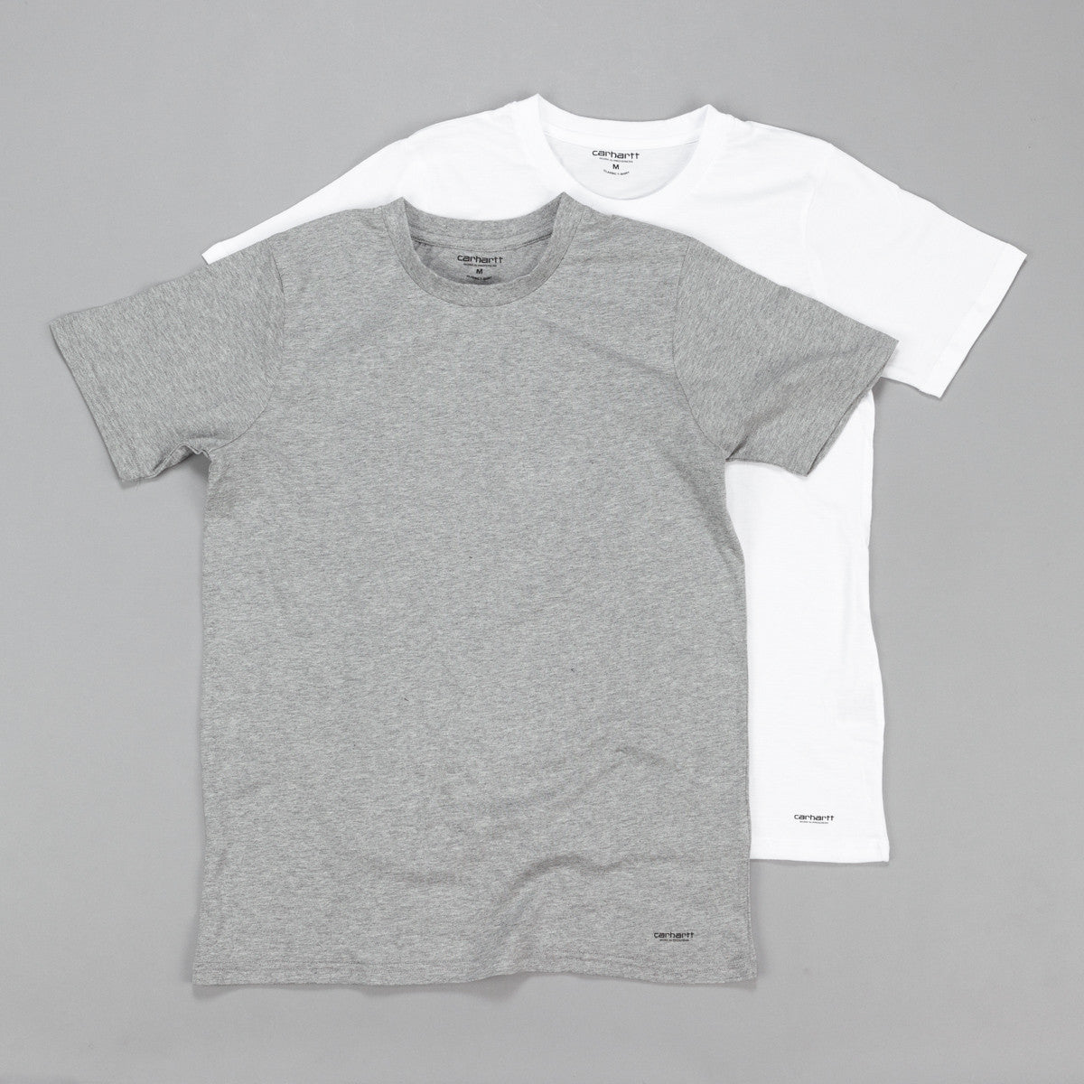 Carhartt Standard T Shirt - White / Grey Heather