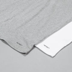 Carhartt Standard T Shirt 2 Pack- White / Grey Heather