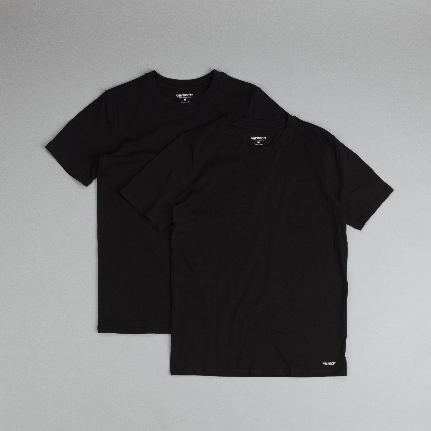 Carhartt Standard T Shirt Two Pack Black