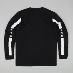Carhartt State Campus Long Sleeve T-Shirt - Black / White