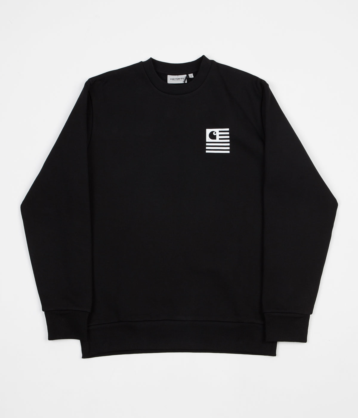 Carhartt State Sports Crewneck Sweatshirt - Black