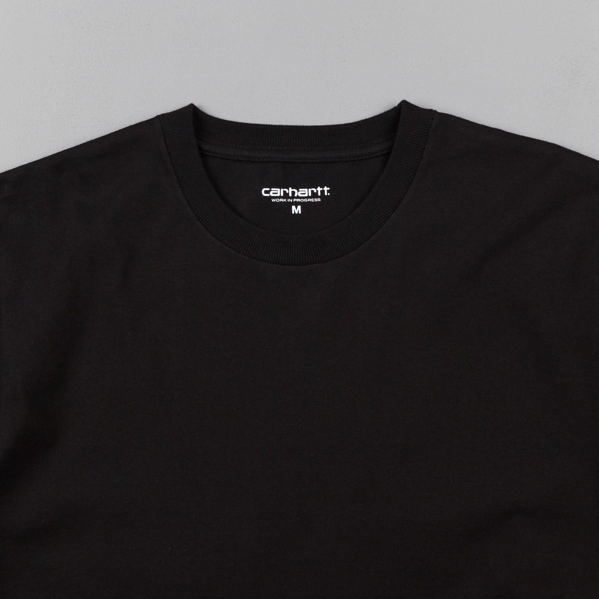Carhartt State T-Shirt - Black / White