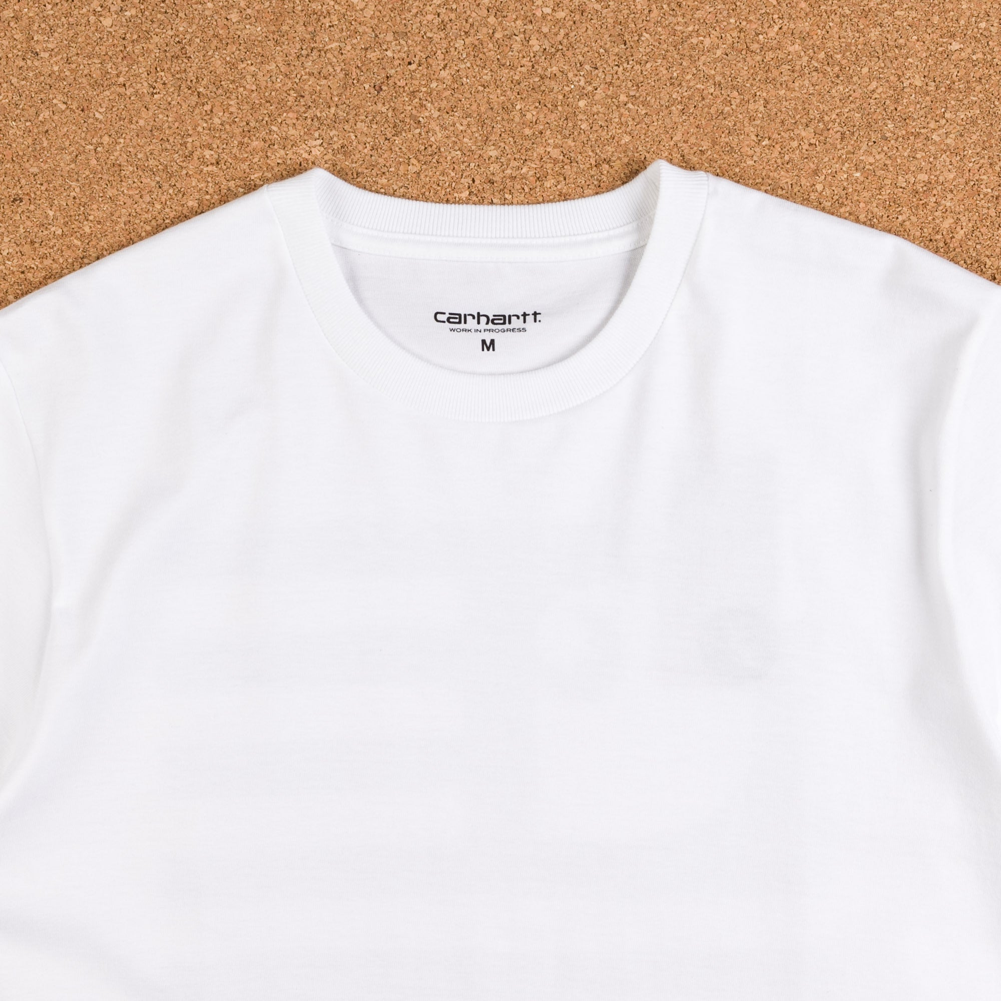 Carhartt State T-Shirt - White / Black