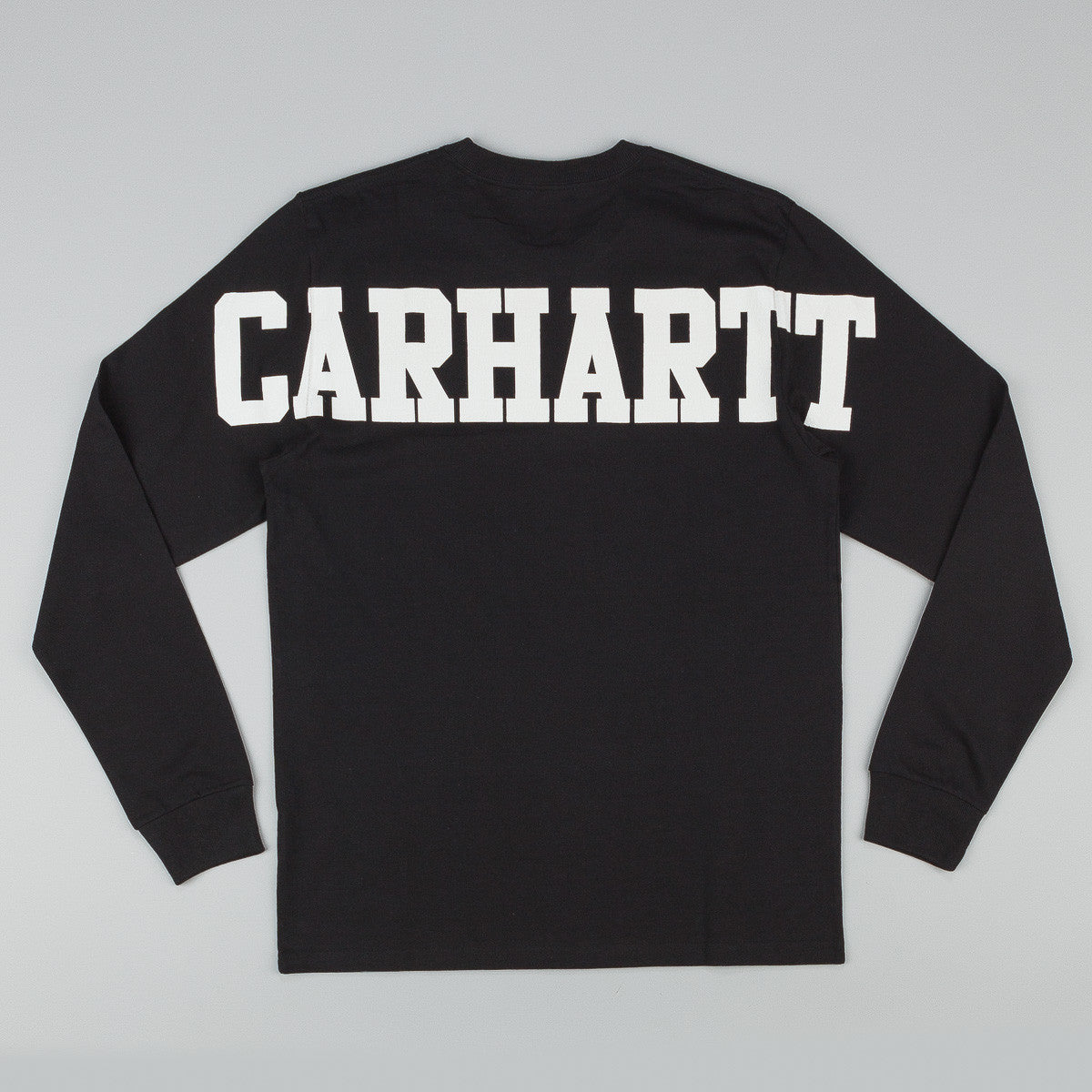 Carhartt Tony Long Sleeve T-Shirt - Black / White