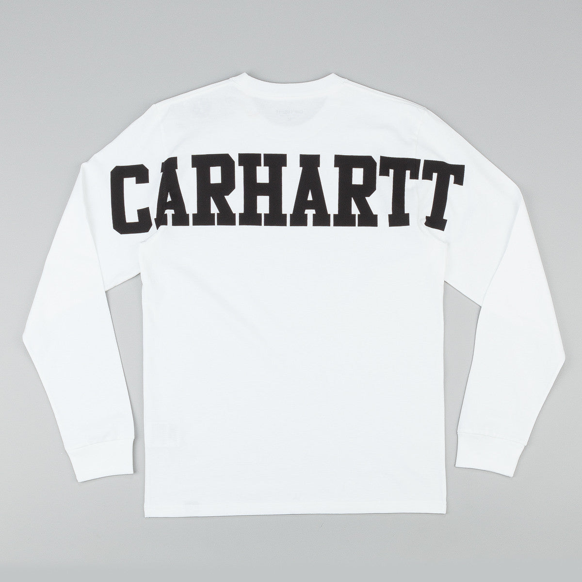 Carhartt Tony Long Sleeve T-Shirt - White / Black