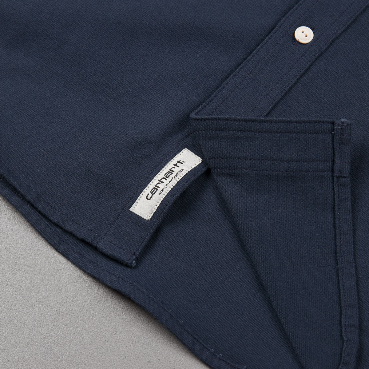 Carhartt Tony Long Sleeve Shirt - Navy