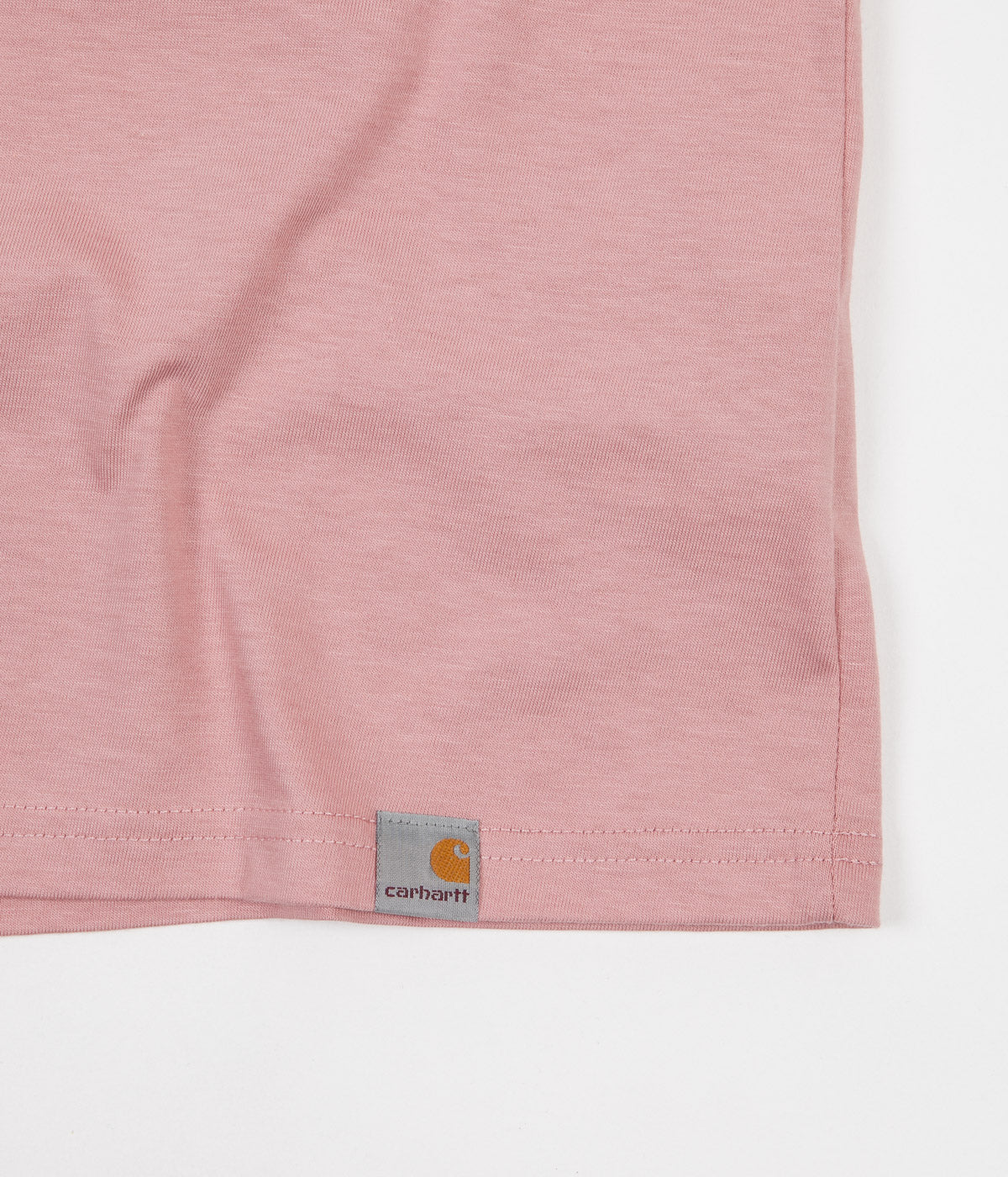 Carhartt True Love T-Shirt - Soft Rose / Black