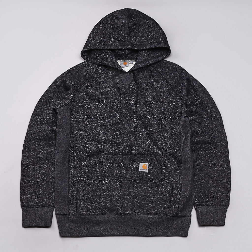 Carhartt Waider Hooded Sweatshirt Black / Snow