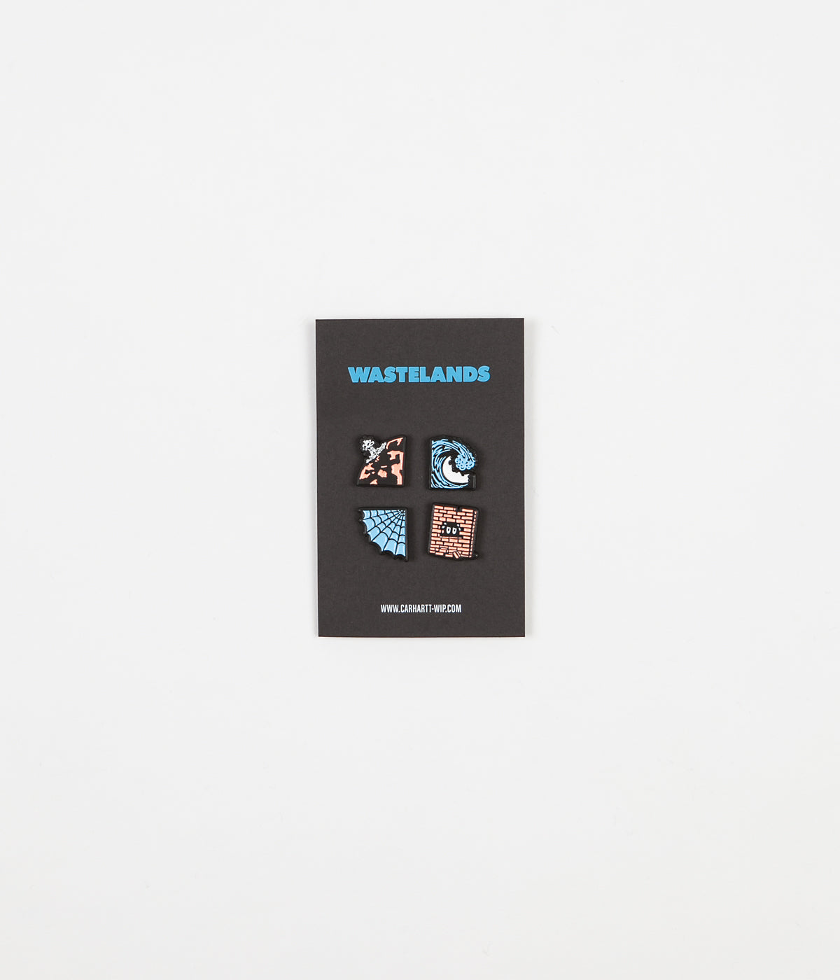 Carhartt Wasteland Pin Set - Blue / Red