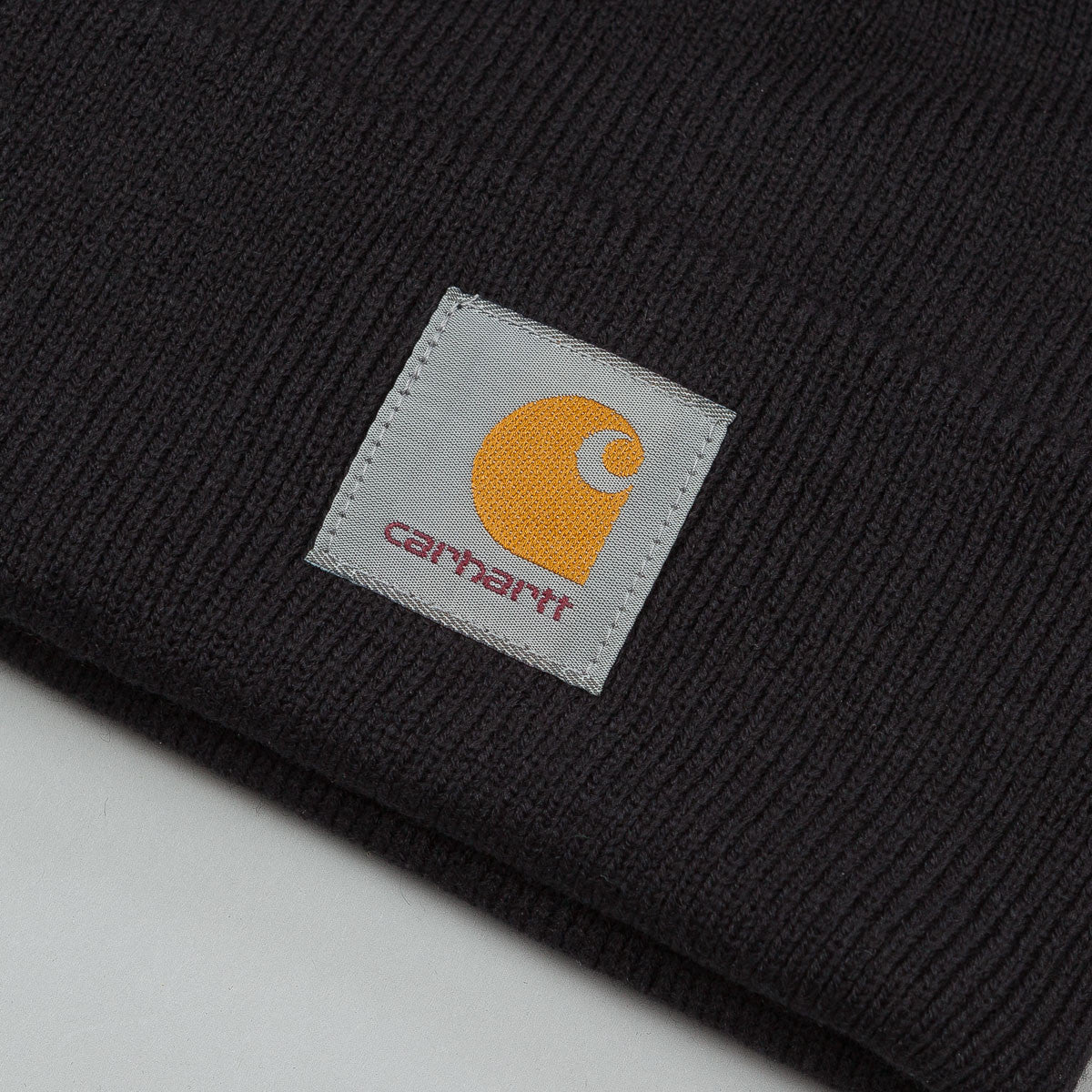 Carhartt Watch Bobble Beanie Black