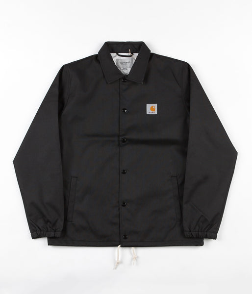 Carhartt Watch Coach Jacket - Black / Broken White