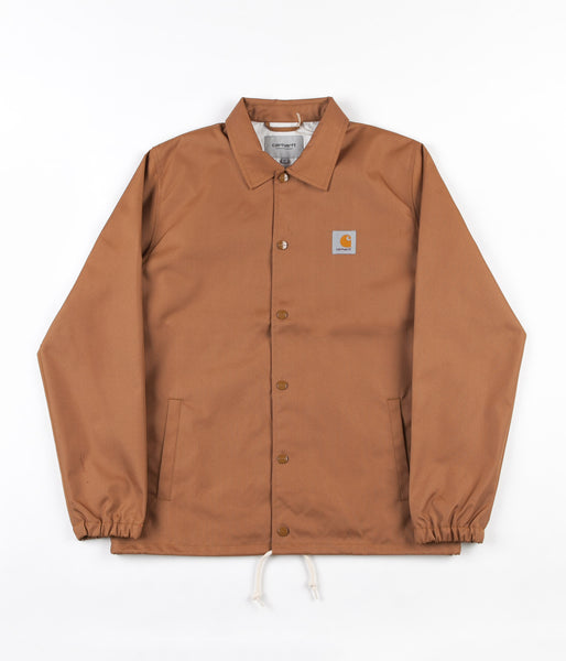 Carhartt Watch Coach Jacket - Hamilton Brown / Broken White