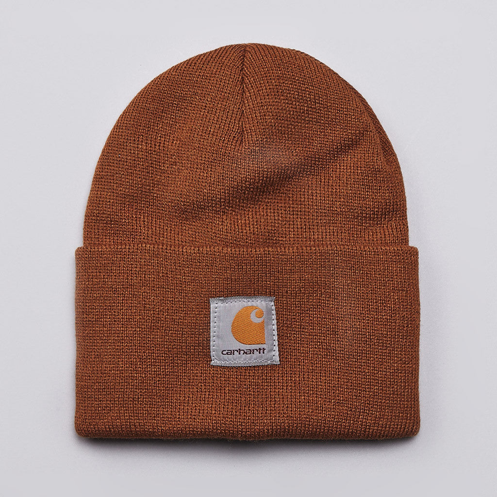 Carhartt Watch Hat Beanie Hamilton Brown