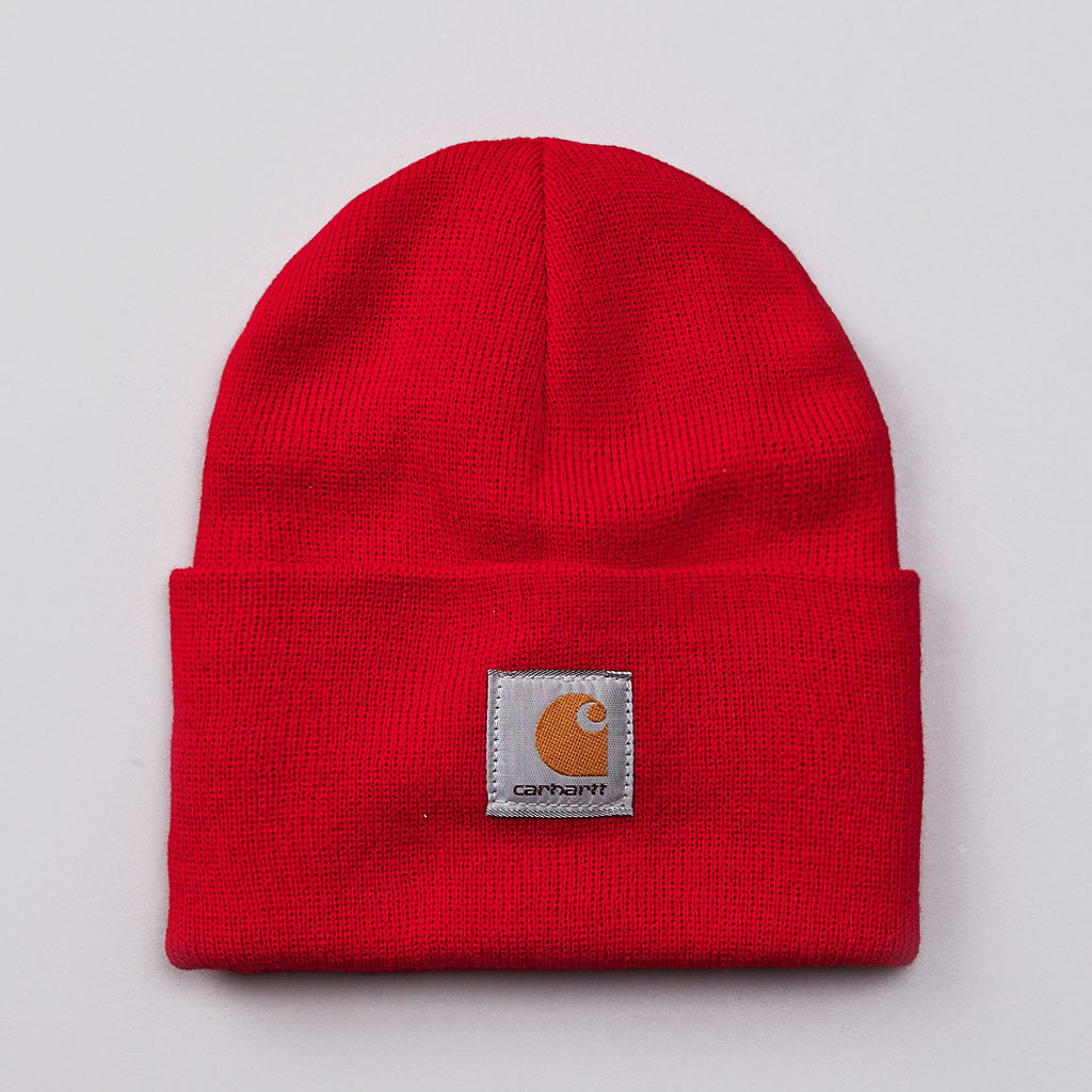 Carhartt Watch Hat Beanie US Dark Red