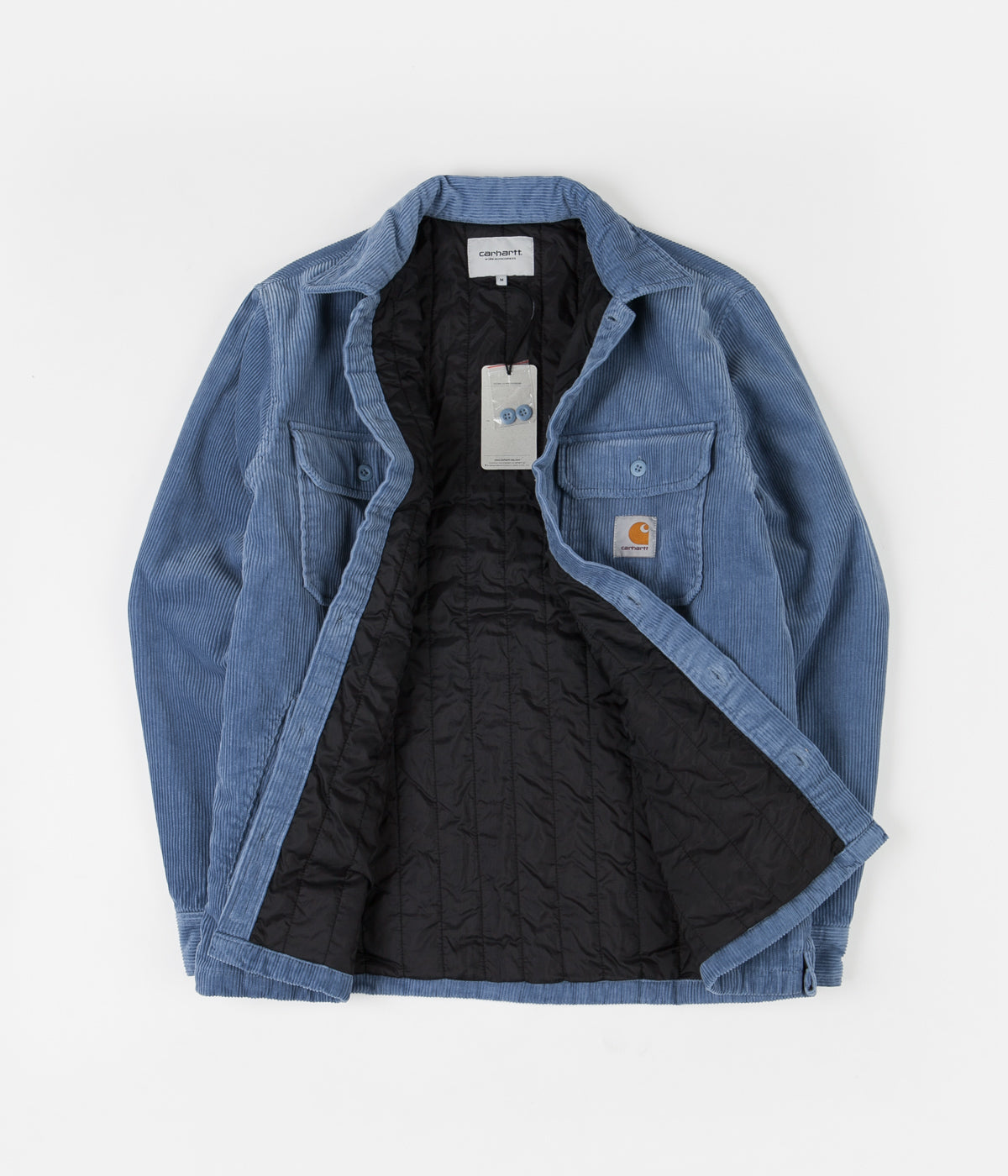 Carhartt Whitsome Shirt Jacket - Cold Blue