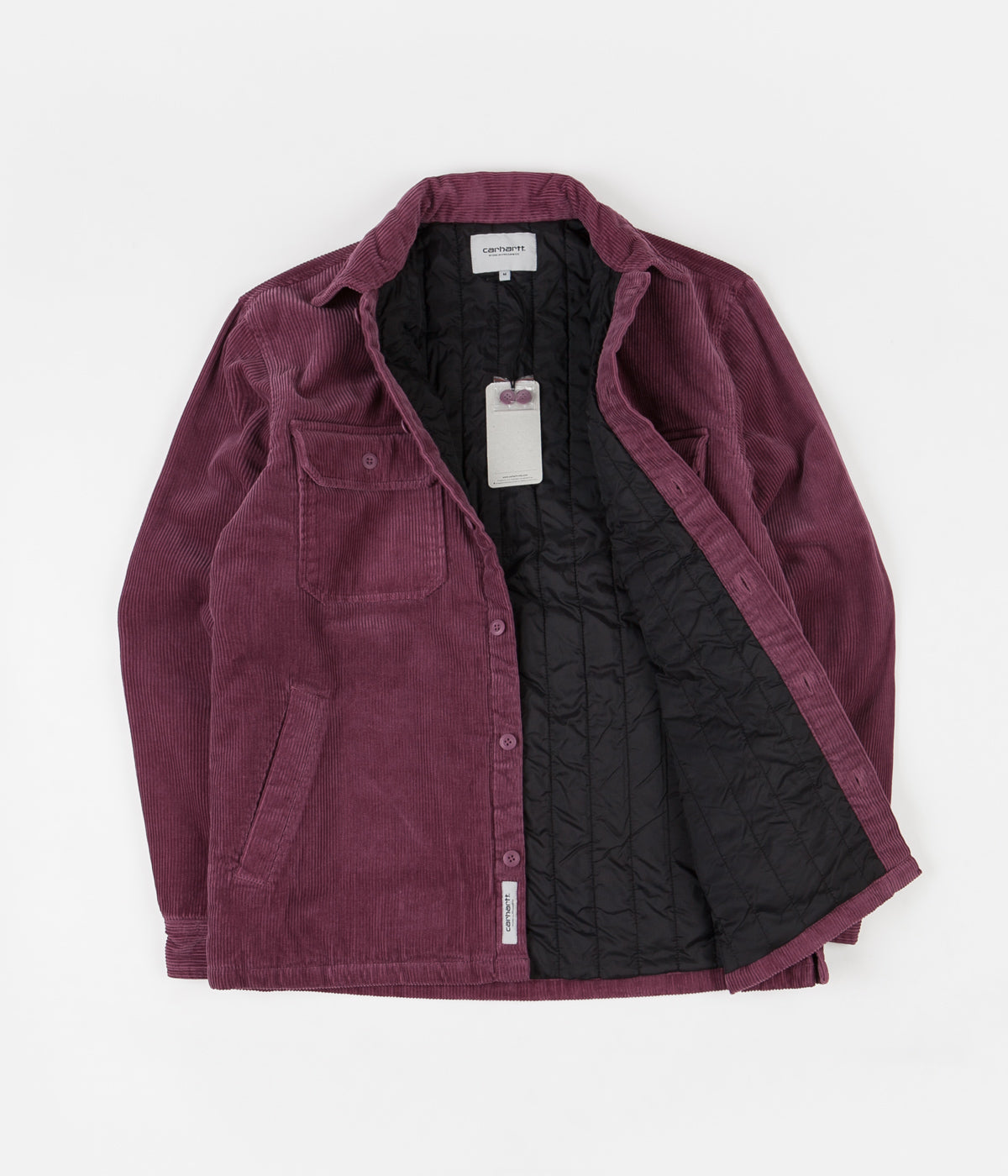 Carhartt Whitsome Shirt Jacket - Dusty Fuchsia