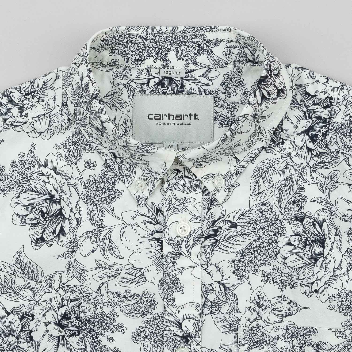 Carhartt Wild Rose Short Sleeve Shirt - Wax / Colony