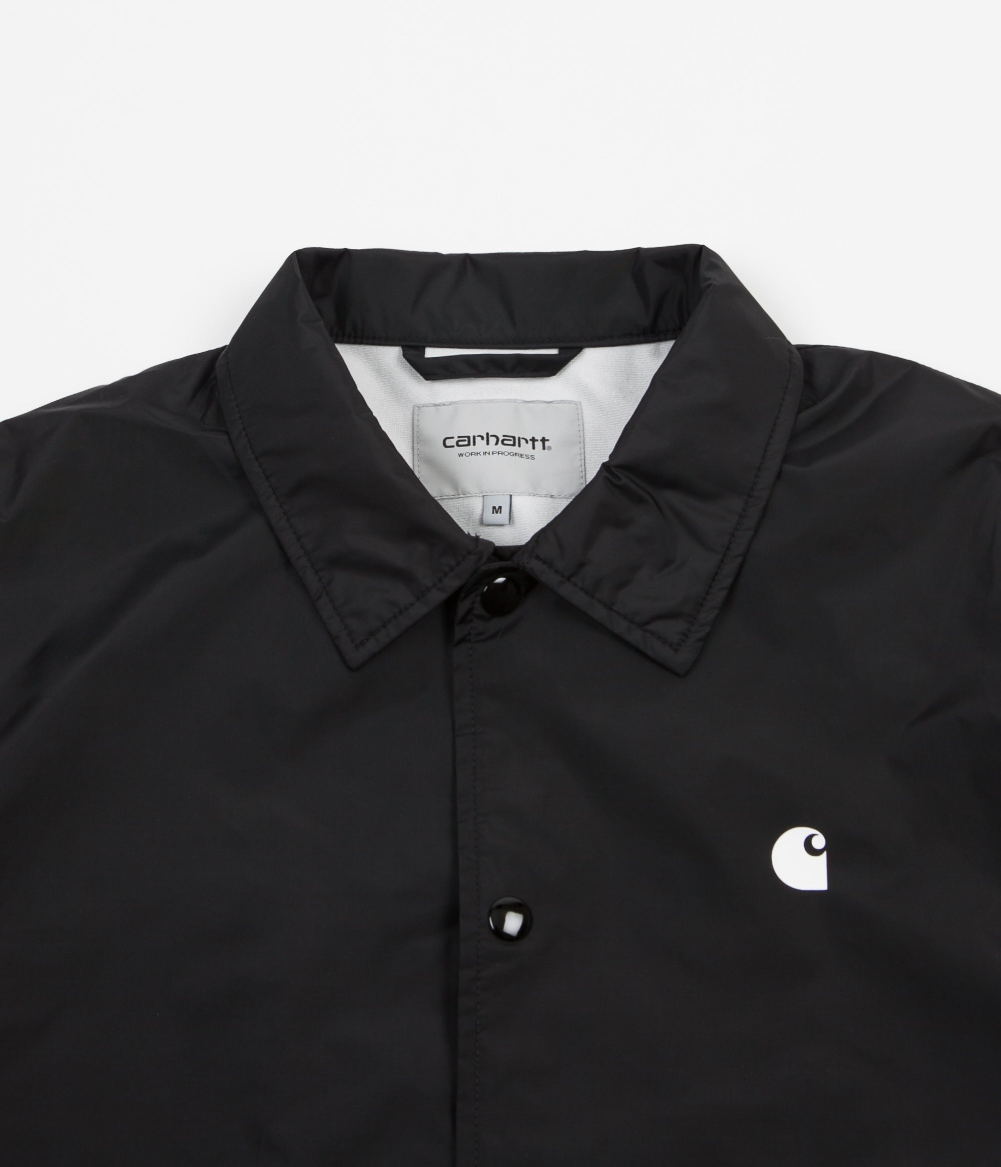 Carhartt WIP Coach Jacket - Black / White