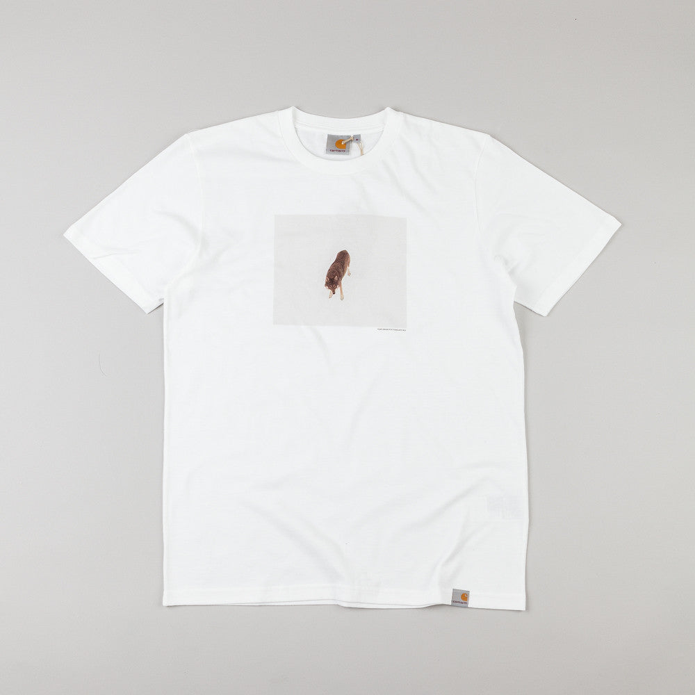 Carhartt Short Sleeve Wolf T Shirt White