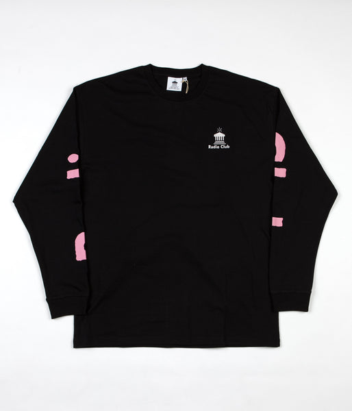 Carhartt x PAM Radio Club Athens Long Sleeve T-Shirt - Black