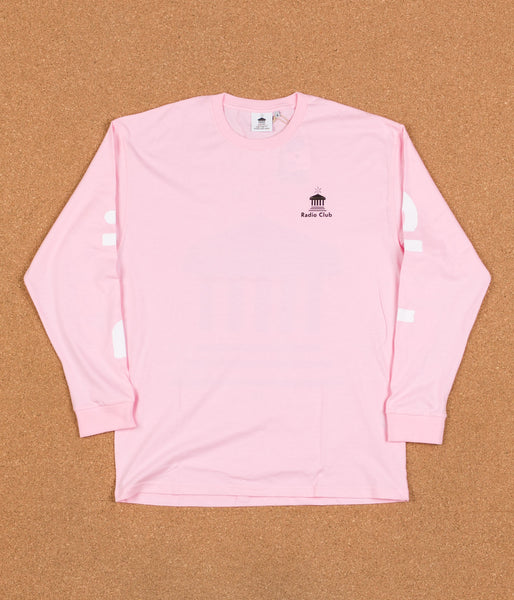 Carhartt x PAM Radio Club Athens Long Sleeve T-Shirt - Vegas Pink