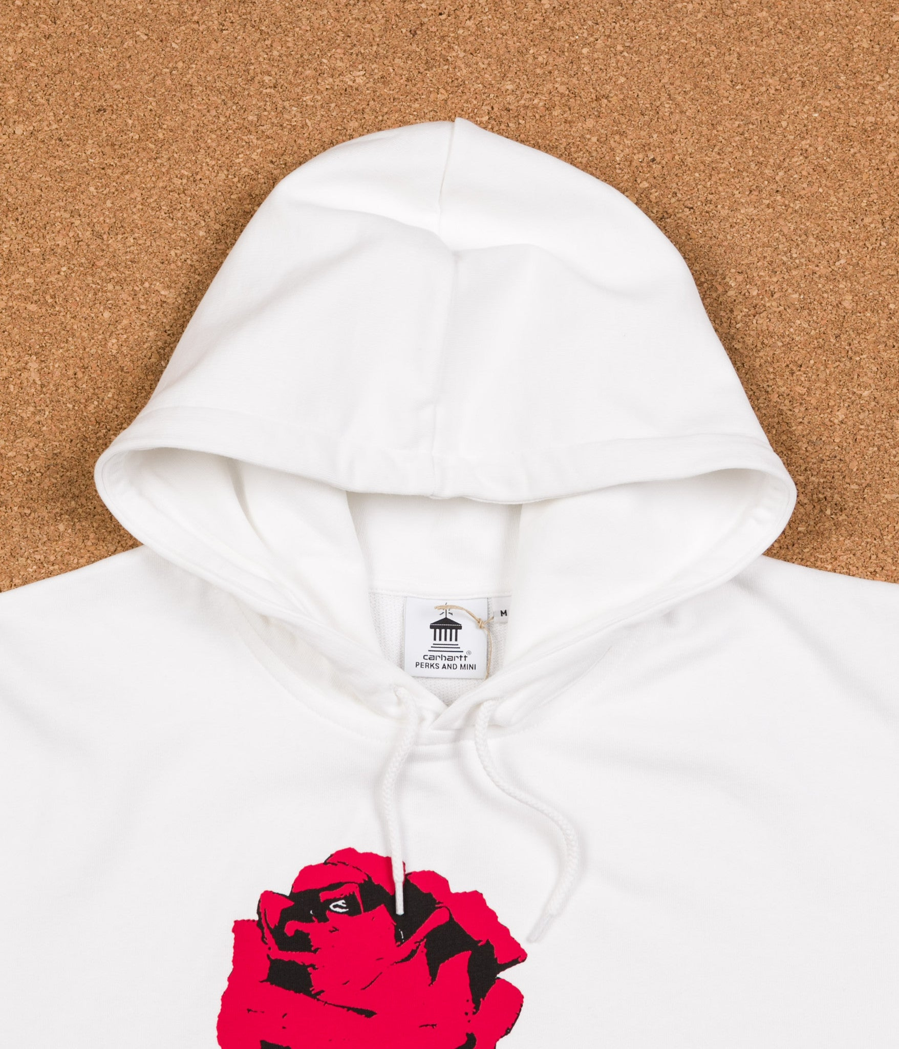 Carhartt x PAM Radio Club L.A. Hooded Sweatshirt - White
