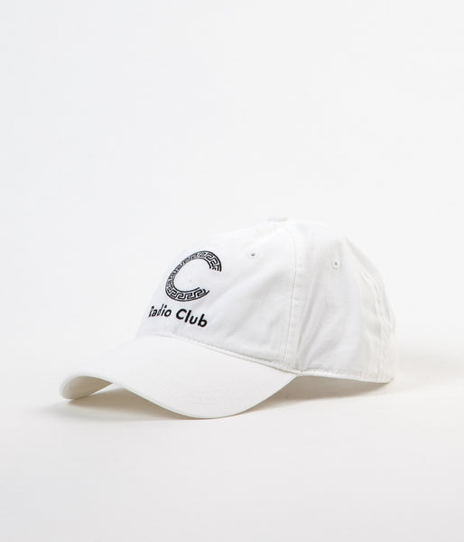 Carhartt x PAM Radio Club Logo Cap - White / Black