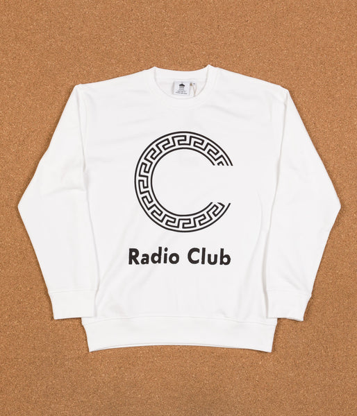 Carhartt x PAM Radio Club Logo Sweatshirt - White / Black