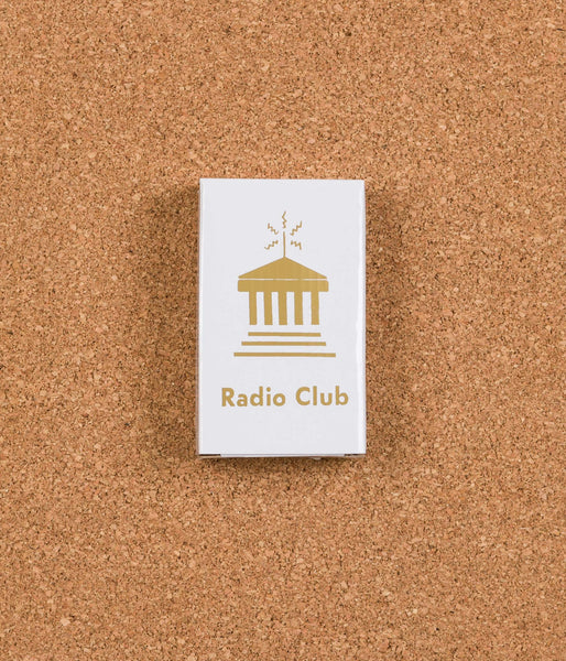 Carhartt x PAM Radio Club Portable Radio - White