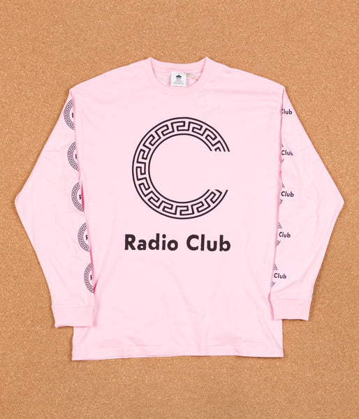 Carhartt x PAM Radio Club Roma Long Sleeve T-Shirt - Vegas Pink