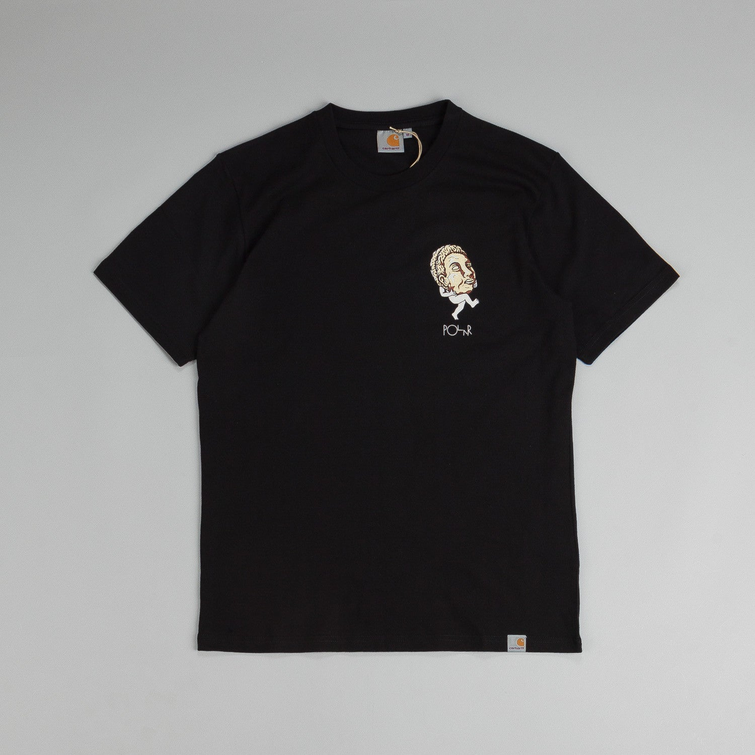 Carhartt X Polar Big Head T Shirt Black