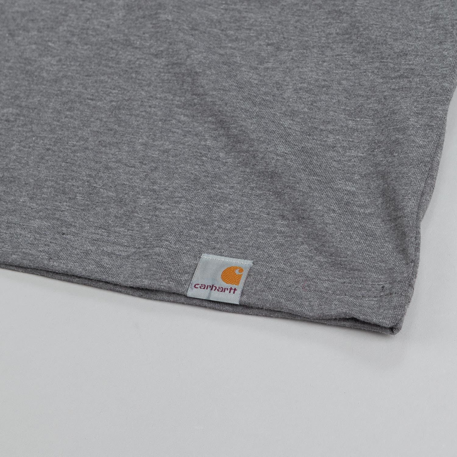 Carhartt X Polar Bust T Shirt Heather Grey