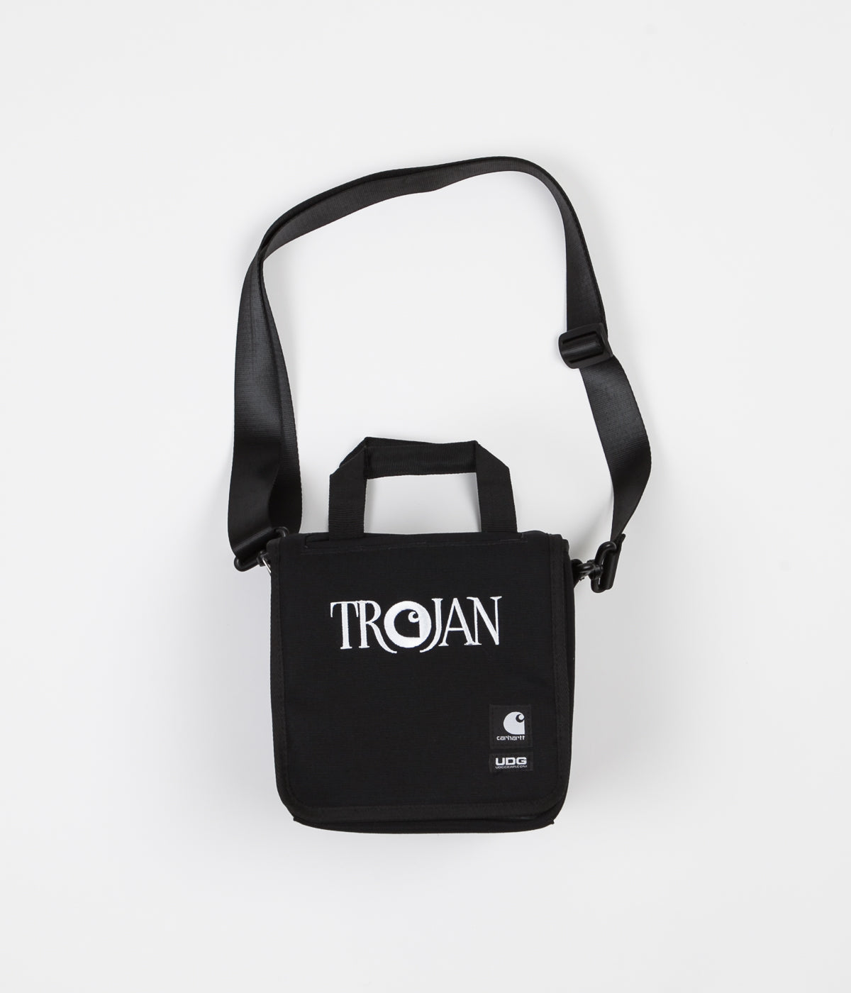 Carhartt x Trojan Records 7 Record Bag - Black