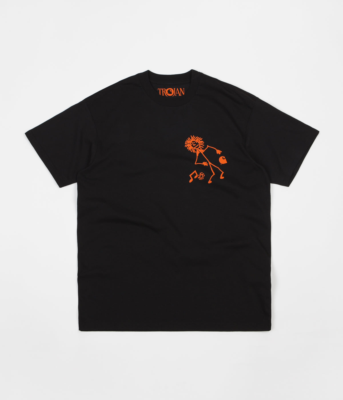Carhartt x Trojan Records King Of Sound T-Shirt - Trojan Black