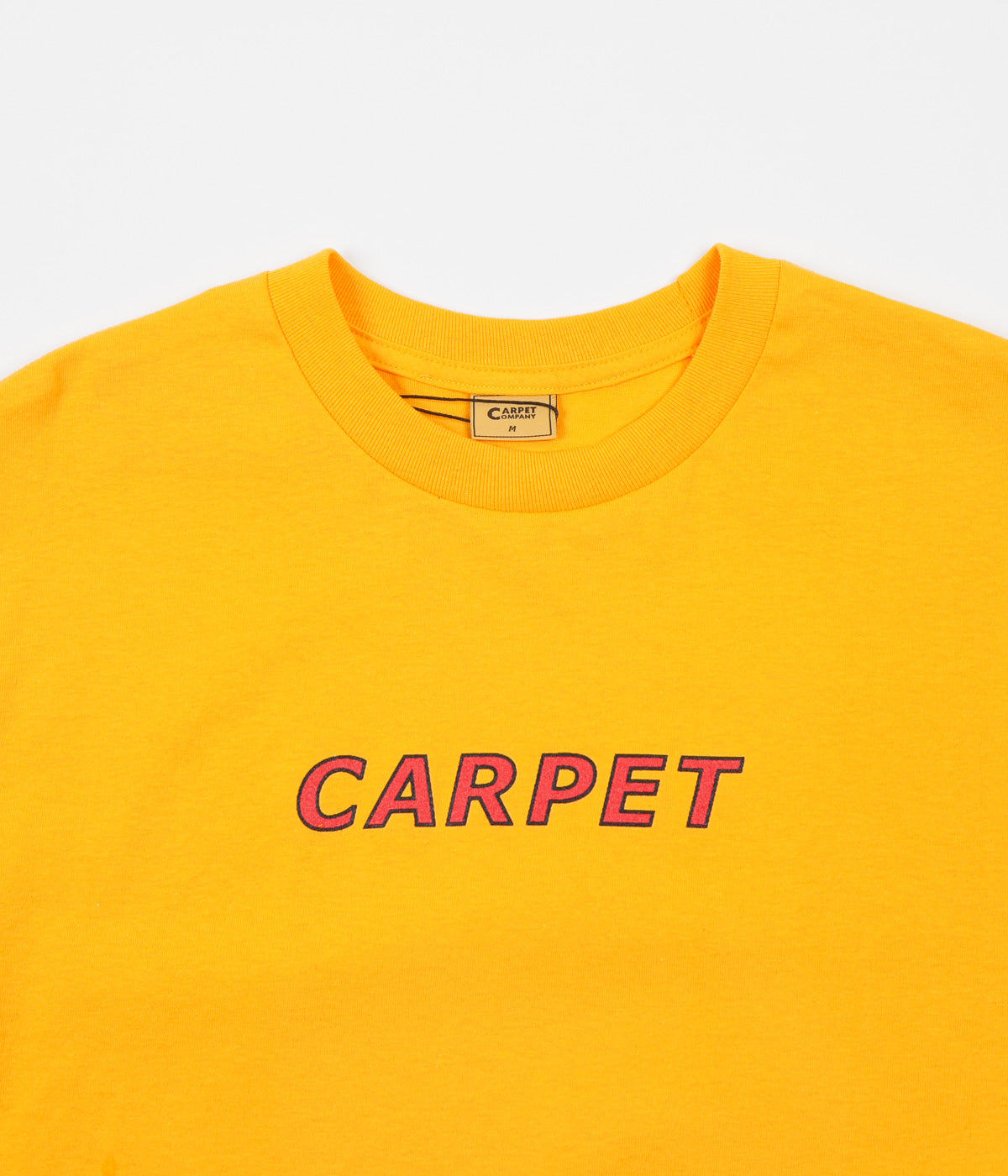 Carpet Co. Change Your Mind T-Shirt - Gold