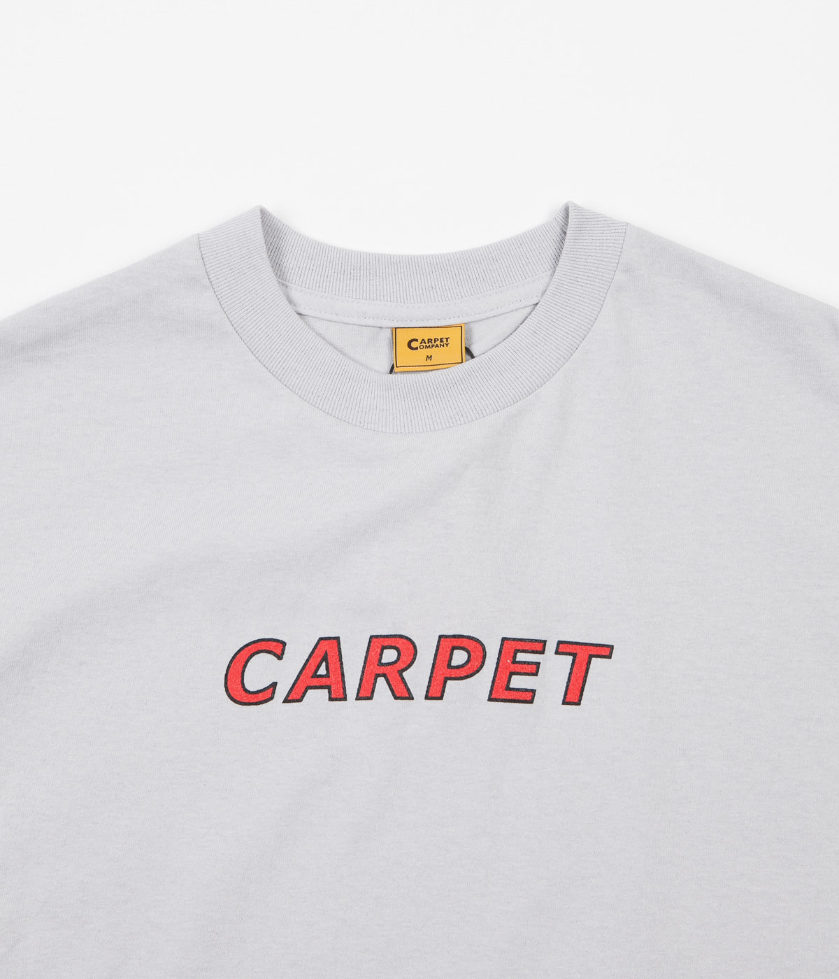 Carpet Co. Change Your Mind T-Shirt - Silver
