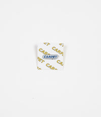 Carpet Co. Lapel Pins - Misprint Blue